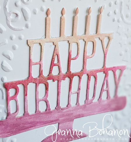 #TGIFC41 Jeanna Bohanon Stampin' Up!  birthday 4