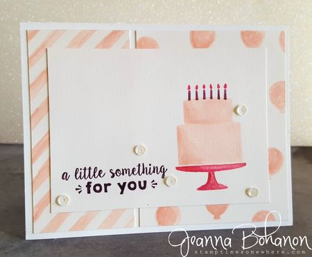 #TGIFC44 Stampin' Up! Party Wishes Jeanna Bohanon