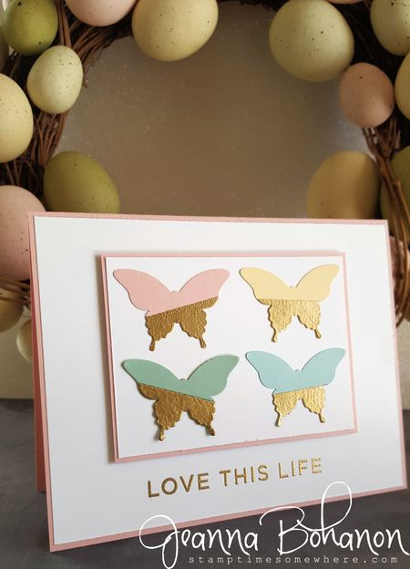 Fancy Friday March 2016 Spring Stampin' Up! Jeanna Bohanon 2