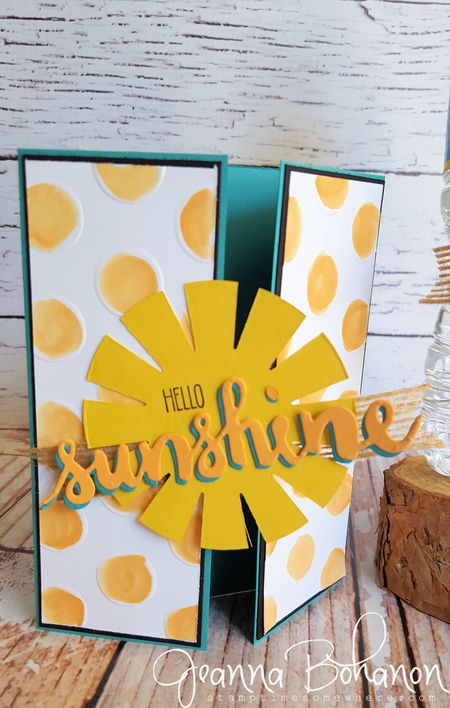 Stampin' Up! Summer Lovin OSAT blog hop Jeanna Bohanon 2