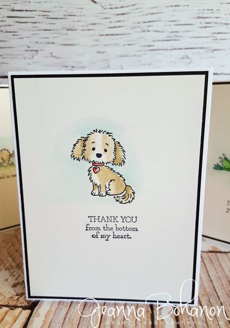 Stampin' Up! Bella and Friends set Jeanna Bohanon 2