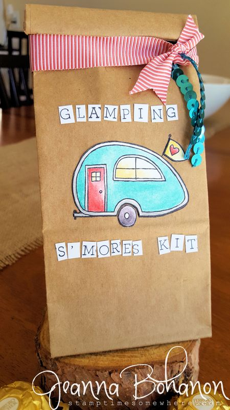 You're Sublime Stampin' Up! Glamper Jeanna Bohanon 1