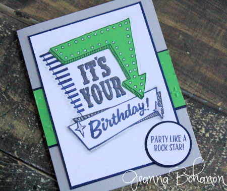 #TGIF66 Marquee Messages Stampin' Up! Jeanna Bohanon