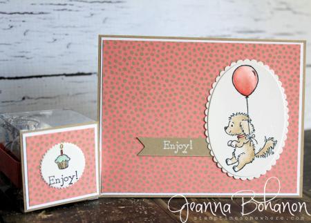 OSAT Aug Stampin' Up! Bella and Friends birthday card Jeanna Bohanon 1