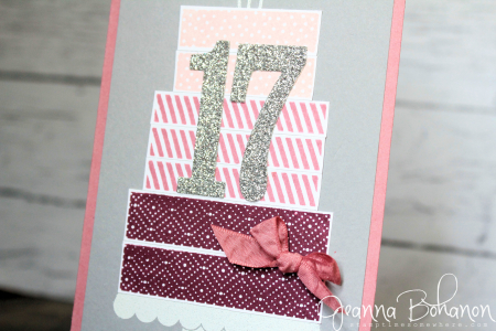 #TGIFC71 Stampin' Up! Build a Birthday Jeanna Bohanon 2