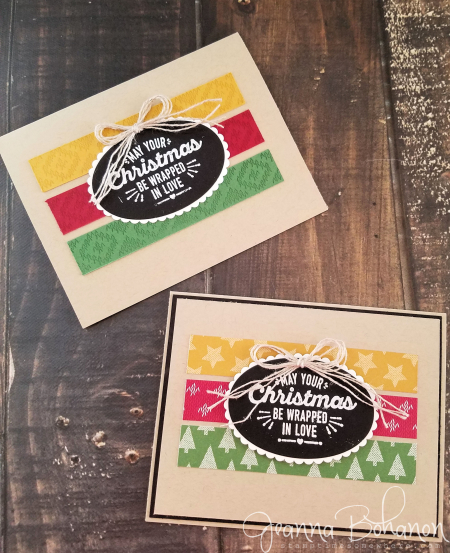 WCBH 11-1 Stampin Up! Wrapped in Warmth Jeanna Bohanon 1