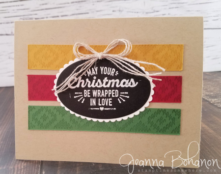 WCBH 11-1 Stampin Up! Wrapped in Warmth Jeanna Bohanon 2