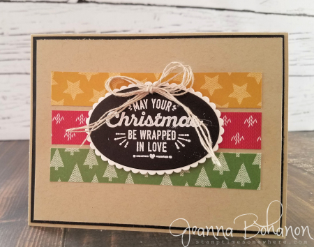WCBH 11-1 Stampin Up! Wrapped in Warmth Jeanna Bohanon 3