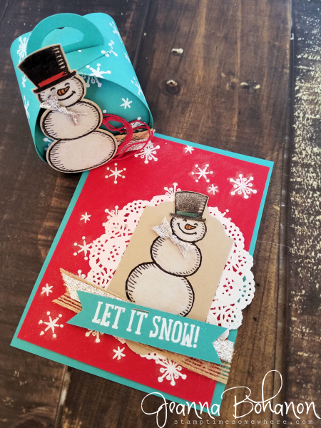 OSAT Blog Hop Stampin' Up! Snow Place Jeanna Bohanon 1