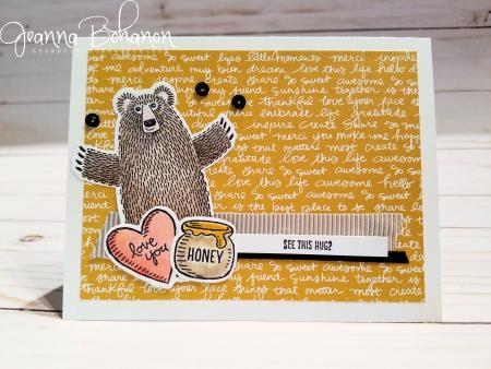 PCC 227 Stampin' Up! Bear Hugs by Jeanna Bohanon