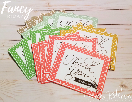 Fancy Friday January 2017 Stampin' Up! So Very Much Jeanna Bohanon 2