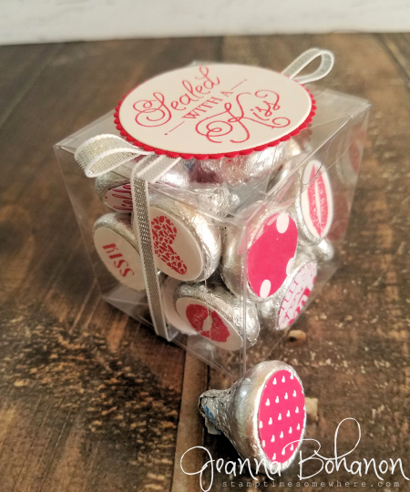 #TGIFC93 Stampin' Up! Sending Love kisses by Jeanna Bohanon 1