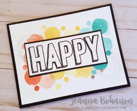 TGIFC97 Stampin' Up! Happy Celebrations Jeanna Bohanon