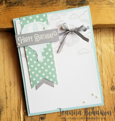PCC234 Stampin' Up! Lift Me Up! by Jeanna Bohanon