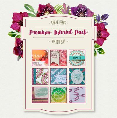March Premium Tutorial Pack Teaser