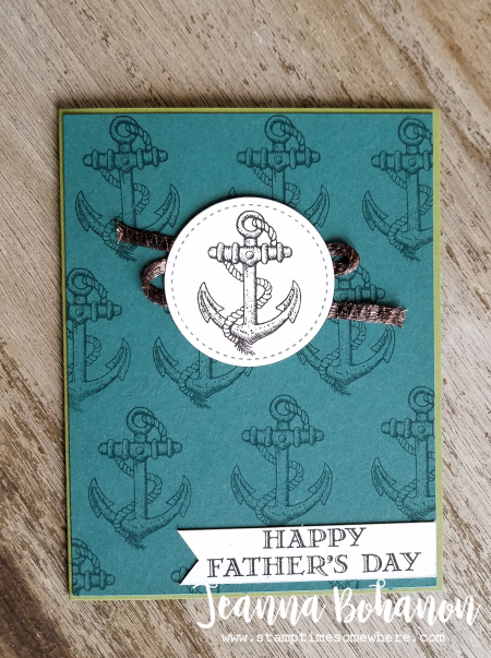 WCBH6-1 Stampin' Up! Guy Greetings by Jeanna Bohanon simple