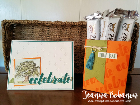 Stampin' Up! Lovely As A Tree June OSAT Blog Hop by Jeanna Bohanon 1