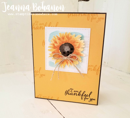 #tgifc123 Stampin' Up! Painted Harvest by Jeanna Bohanon 3