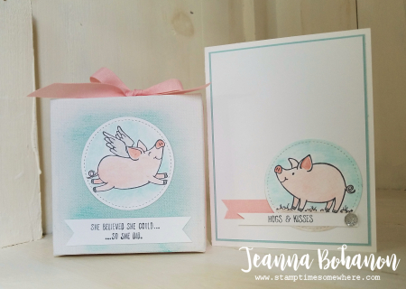 OSAT Stampin' Up! This Little Piggy Jeanna Bohanon 1