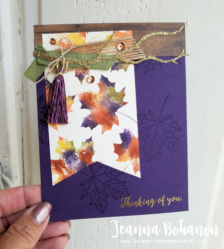 Pcc260 Stampin' Up! Colorful Seasons by Jeanna Bohanon