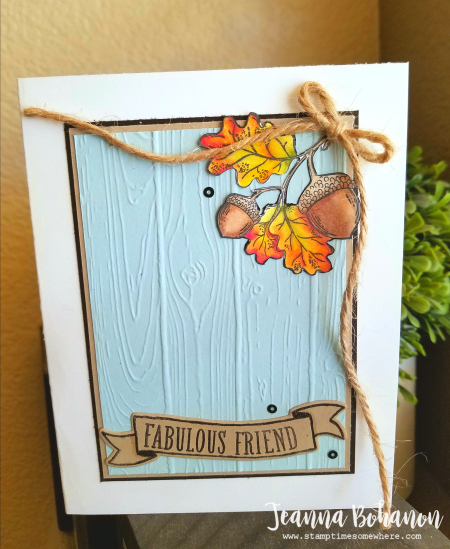 #tgifc132 Stampin' Up! Count My Blessings by Jeanna Bohanon