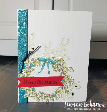 Pcc268 Stampin' Up! Feeling of Christmas by Jeanna Bohanon