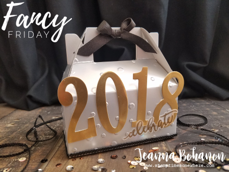 Fancy Friday Mixed Metallics - Stampin Up! New Year's Eve Favor by Jeanna Bohanon