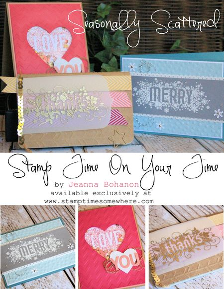 Stamp Time On Your Time November - Seasonally Scattered