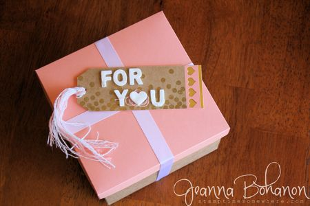 Fancy Friday Blog Hop Stampin' Up! Jeanna Bohanon December 2014 Tags 1