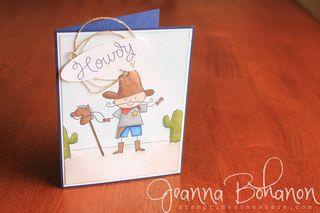 Cowboy Kid Jeanna Bohanon 1