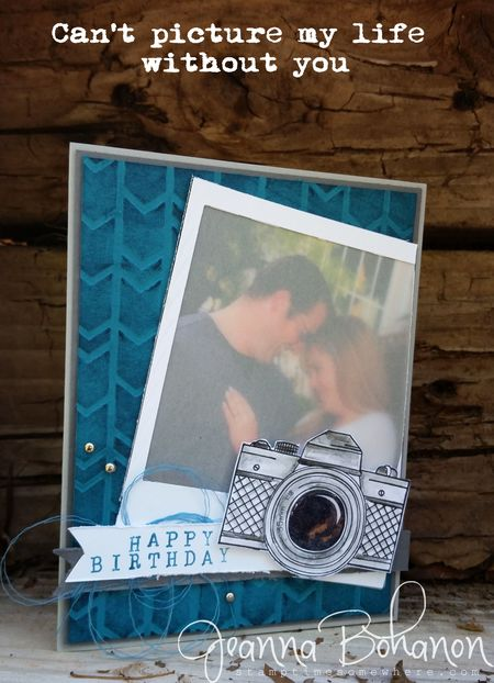 Fancy Friday March 2015 Masculine Card Stampin Up Jeanna Bohanon