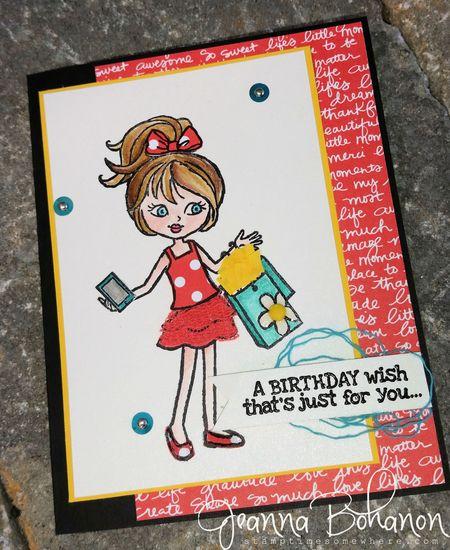 #TGIFC12 Jeanna Bohanon Hey,Girl Stampin' Up!