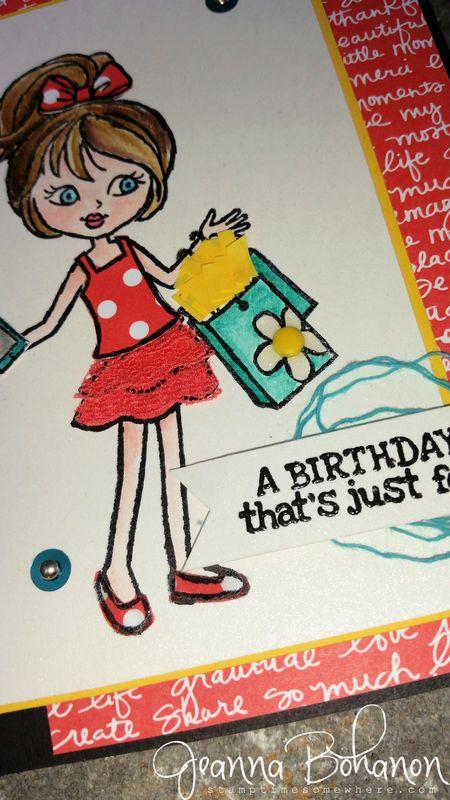 #TGIFC12 Jeanna Bohanon Hey,Girl Stampin' Up! 2