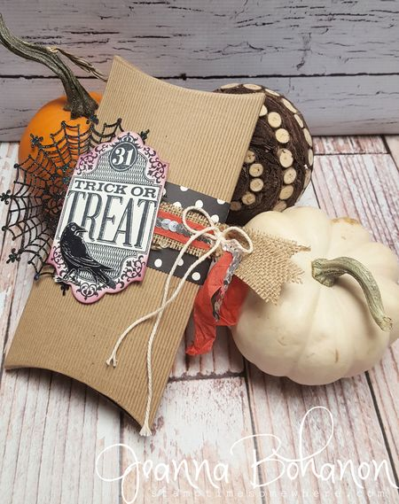 OSAT Oct 15 Fall and Halloween Stampin' Up! Jeanna Bohanon 1
