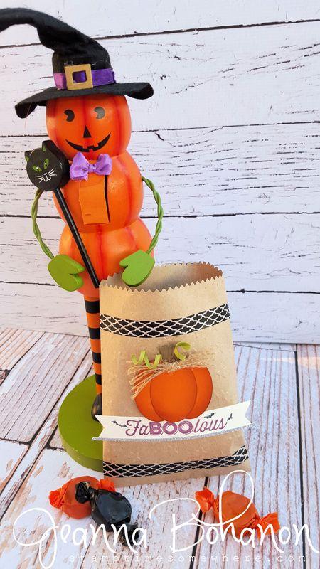 #TGIFC27 Jeanna Bohanon Stampin' Up! Halloween Bag 1