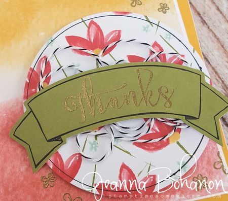 Blissful Bouquet Stampin' Up! Jeanna Bohanon 3