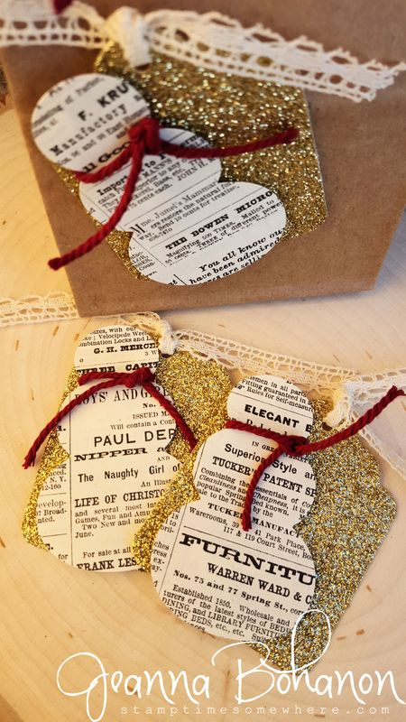 Fancy Friday Stampin' Up! Quick Christmas Tags Jeanna Bohanon 2