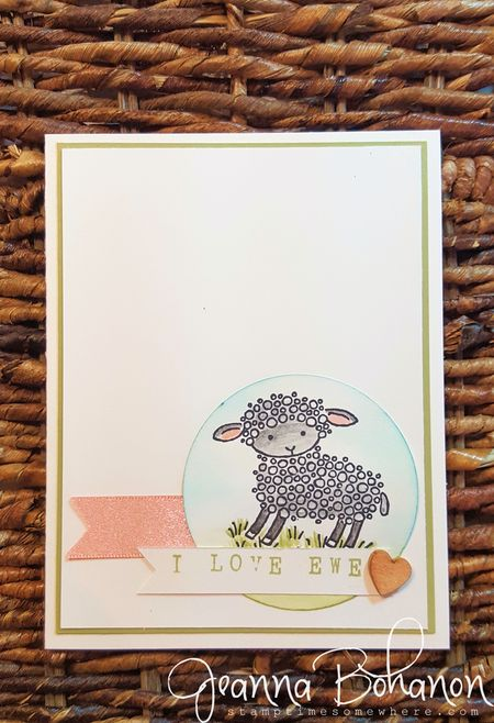 Stampin' Up! Valentine Fancy Friday Jeanna Bohanon