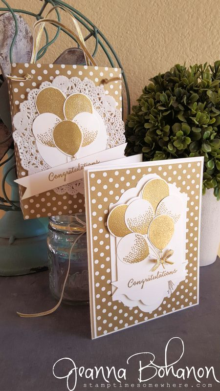 OSAT Blog Hop Stampin' Up! Balloon Celebrations Jeanna Bohanon