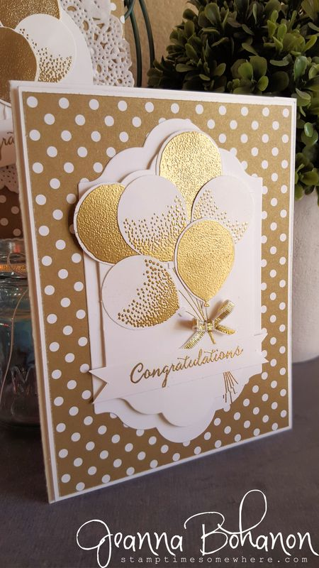 OSAT Blog Hop Stampin' Up! Balloon Celebrations Jeanna Bohanon 1