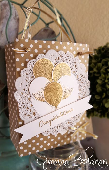 OSAT Blog Hop Stampin' Up! Balloon Celebrations Jeanna Bohanon 2
