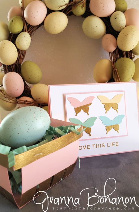 Fancy Friday March 2016 Spring Stampin' Up! Jeanna Bohanon 1