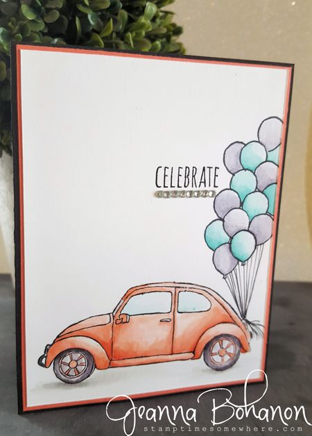 #TGIFC49 Color Combo Stampin' Up! Beautiful Ride Jeanna Bohanon 1