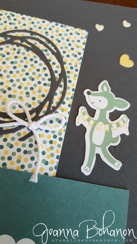 Hello Baby Boy Project Life by Stampin' Up! page by Jeanna Bohanon 3