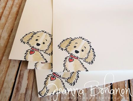 Stampin' Up! Bella and Friends set Jeanna Bohanon 6