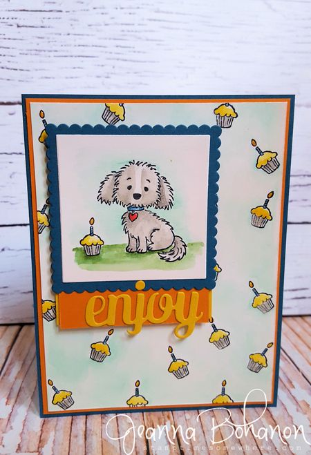 Bella and Friends Stampin' Up! Stamp Ink Paper Challenge Jeanna Bohanon