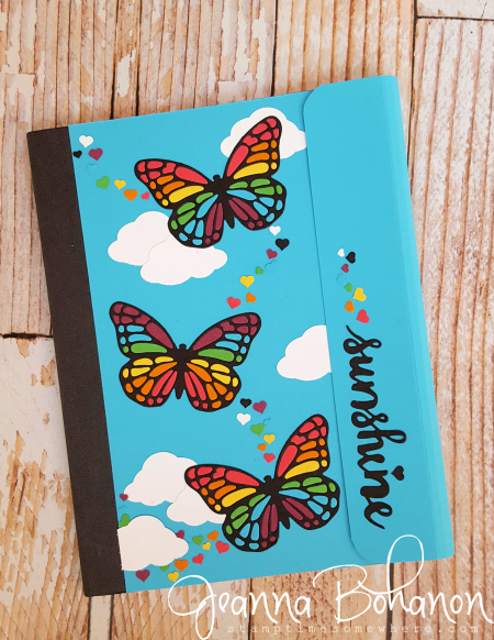 Fancy Friday June 2016 Stampin' Up! style Trapper Keeper by Jeanna Bohanon 1