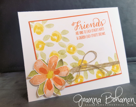 Stamp Ink Paper 54 Stampin' Up! Jeanna Bohanon