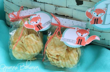Stampin' Up! Foxy Friends Picnic Basket by Jeanna Bohanon 8