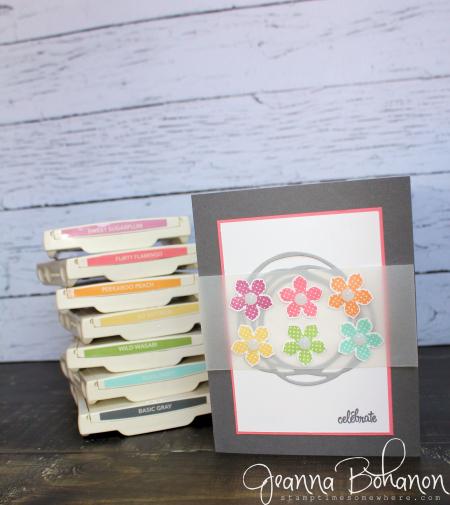 #TGIFC63 Stampin' Up! Petite Petals by Jeanna Bohanon